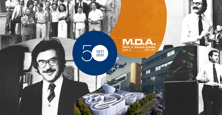 SDA Bocconi, ahead of its time for half a century