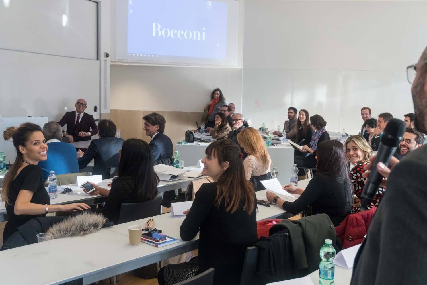 The second module of EMILUX in Milano hosted a special guest for its inagural lesson.