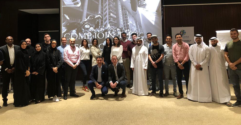 The first half of the Diploma Programs in Sports Management and Major Events Management in Doha (Qatar) ended