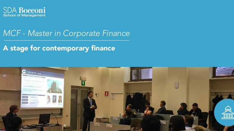 A stage for contemporary finance