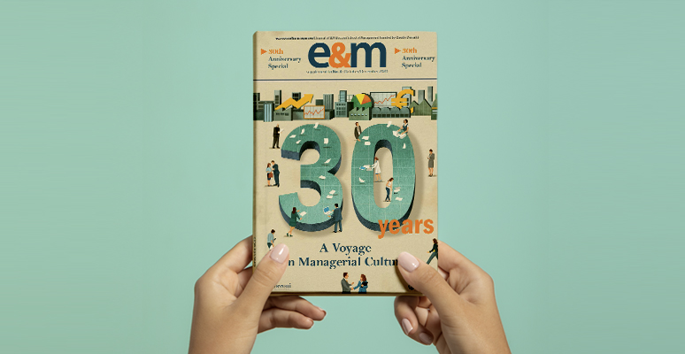 Economia&Management, a 30-years journey in managerial culture