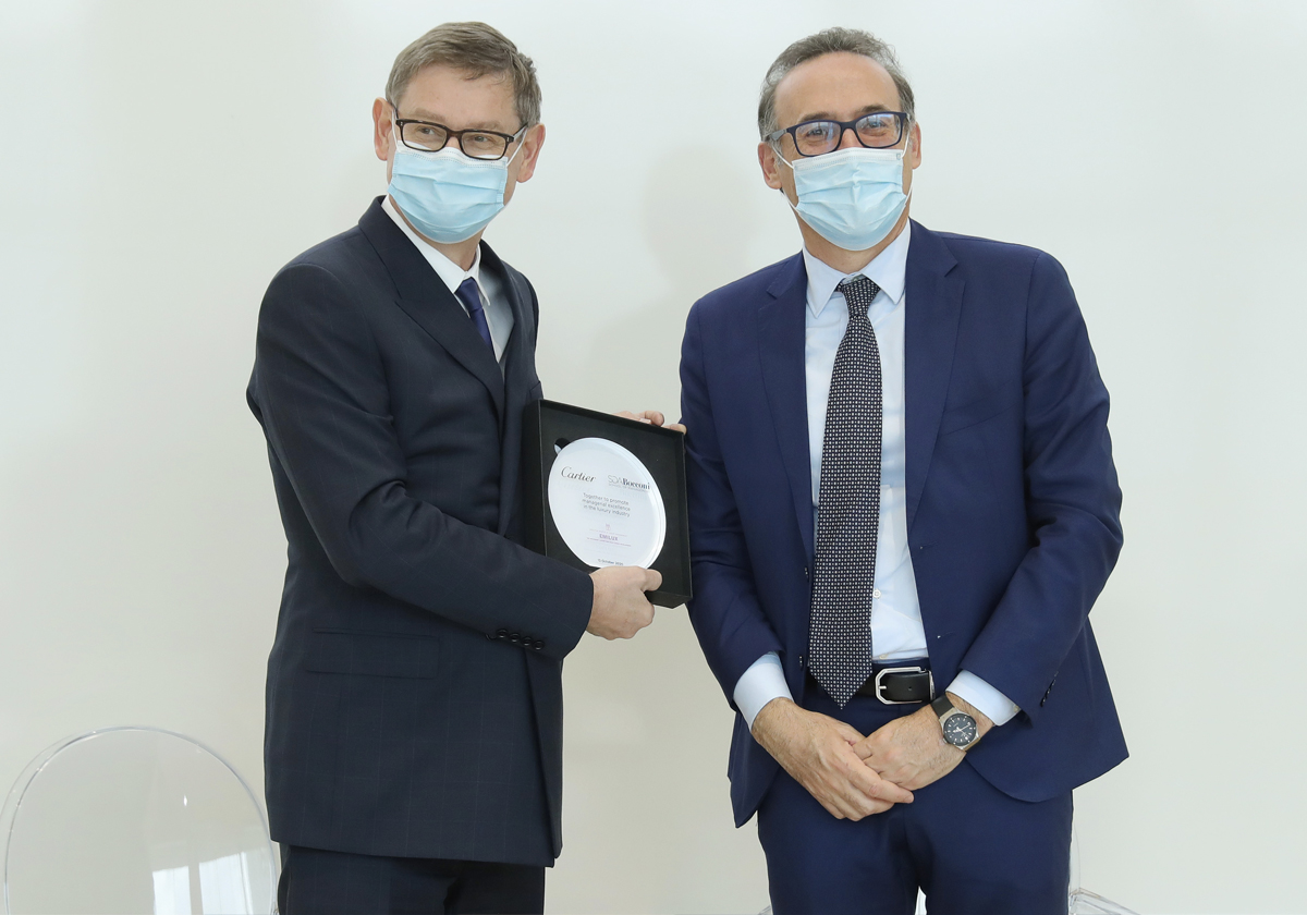 """""""The King of Jewellers"""" chooses Milano and SDA Bocconi"""