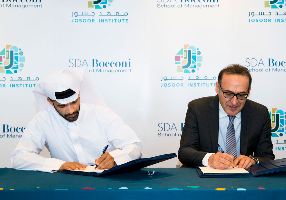 SDA Bocconi and Josoor Institute partner to impact the future of sports and event management