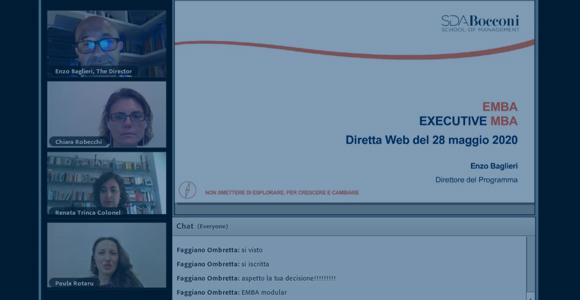 Presentazione Web - Executive MBA: l'Executive Career Curriculum dedicato a te