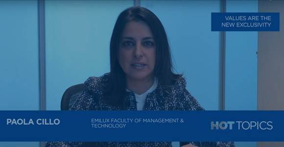 #HotTopics: EMiLUX Faculty of Management and Technology - Paola Cillo