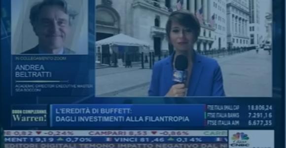 Class CNBC - L'eredità di Buffett: dagli investimenti alla filantropia. Intervista ad Andrea Beltratti, EMF Academic Director