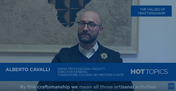 #HotTopics: The Values of Craftsmanship - Alberto Cavalli