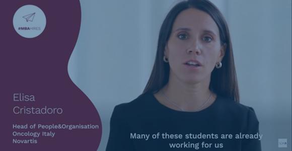 #MBAHires. Why hire a SDA Bocconi MBA? - Elisa Cristadoro