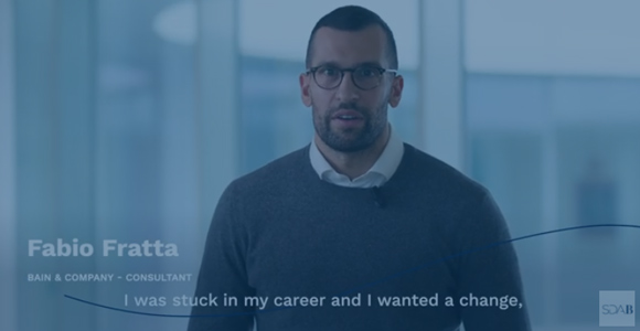 MY MBA in 60 SECONDS, the story of Fabio Fratta