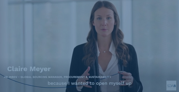 MY MBA in 60 SECONDS, the story of Claire Meyer
