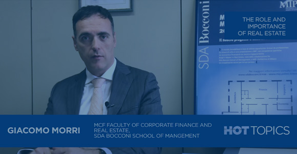 #HotTopics: The role and importance of Real Estate - Giacomo Morri