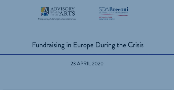 ABA Live and SDA Bocconi Webinar - Fundraising in Europe During the Crisis