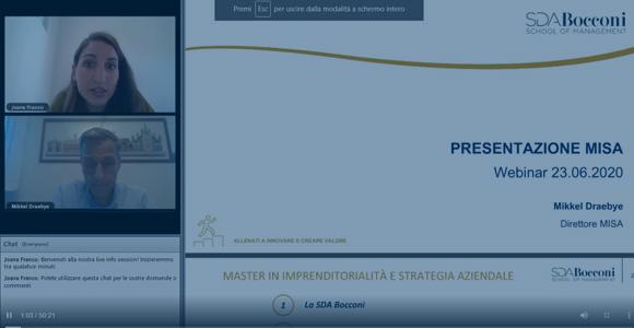 Presentazione Web: Il nuovo MISA