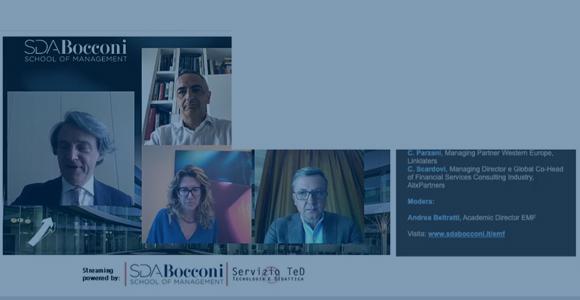 EMF CEO Forum - M.Morelli, A. Munari, C. Parzani, C.Scardovi