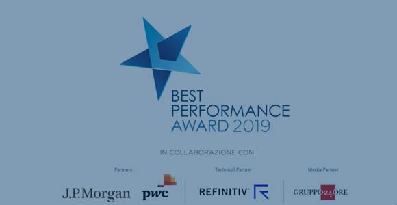 Best Performance Award 2019