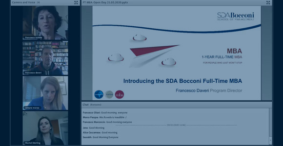 Virtual Open Day:  Full-Time MBA presentation