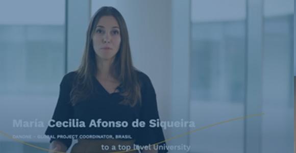 The EMMS experience of María Cecilia Afonso de Siqueira