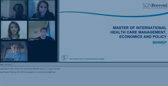 Web Presentation - The Insiders' View: meet MHIMEP Current Students