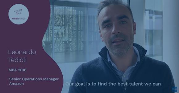 #MBAHires. Why hire a SDA Bocconi MBA? - Leonardo Tedioli