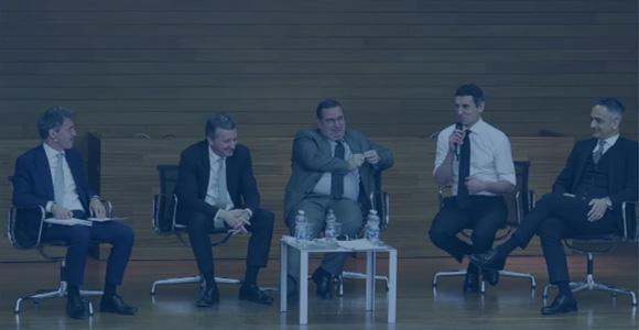 EMF CEO Forum - G. Castagna, M. Morelli, A. Munari e C. Scardovi