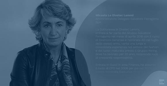 EMF leader series: Micaela Le Divelec Lemmi, Ferragamo